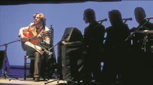 Daniel Casares en el escenario