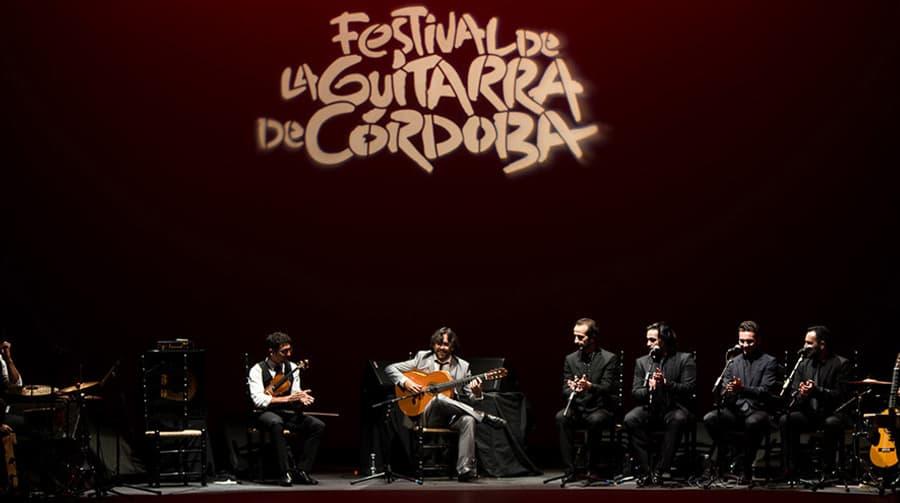 Daniel Casares en el festival de la guitarra de Córdoba