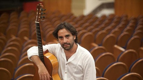 Daniel Casares posa para ABC de Sevilla