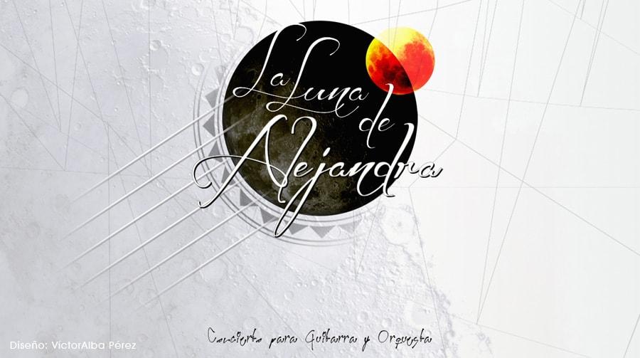 La Luna de Alejandra, diseño de Víctor Alba Pérez