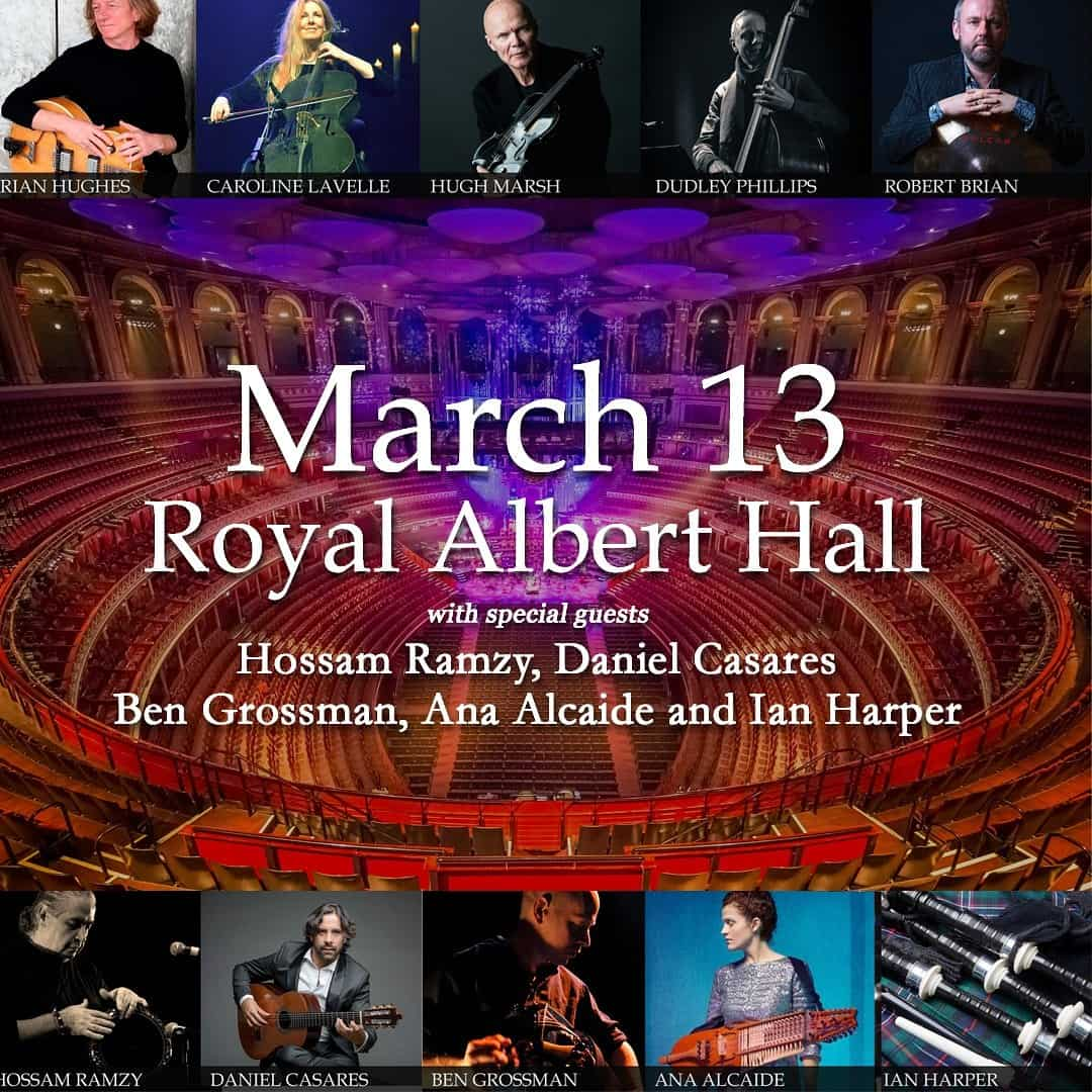 Daniel Casares en Royal Albert Hall