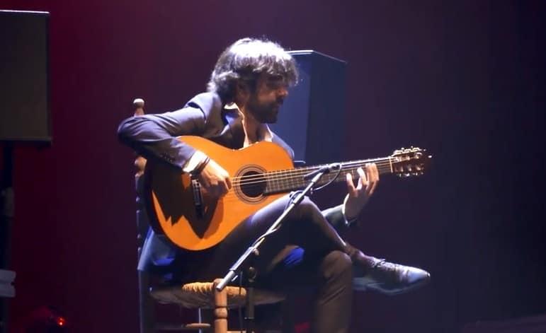 Daniel Casares en concierto